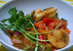 Trini Pepper Shrimp