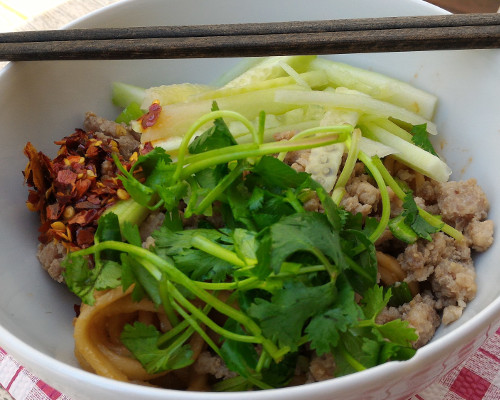 Sichuan Dan Dan Noodles