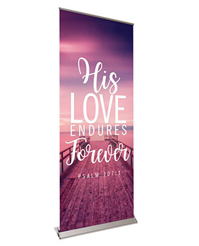 Inspiration In Christ Retractable Banners