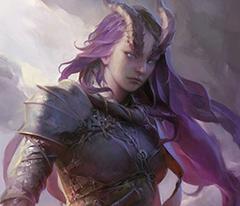 Tigana, Tiefling Warlock (Hexblade) - Myth-Weavers