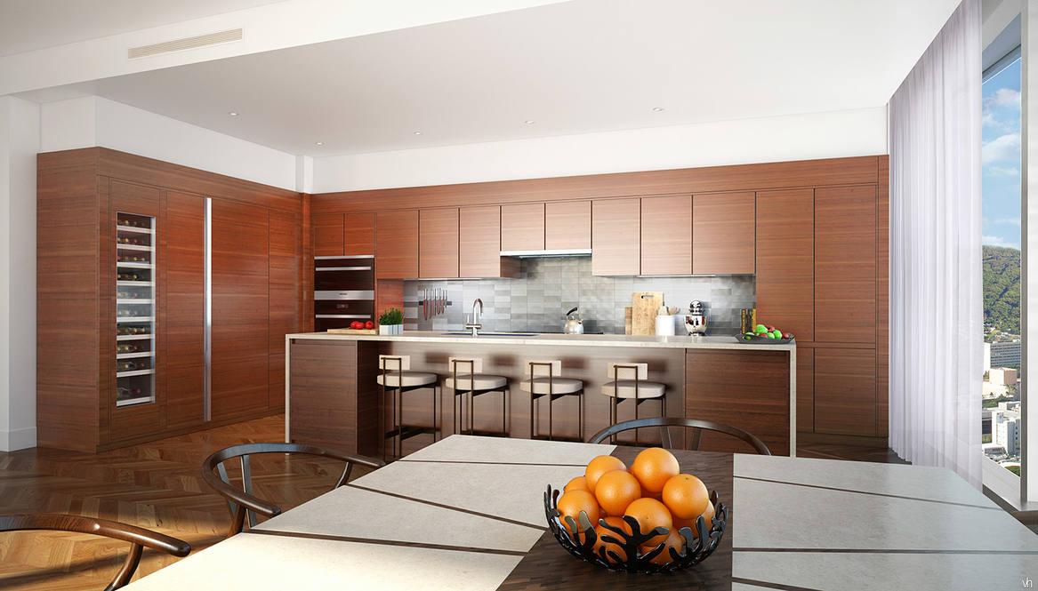 Anaha penthouse kitchen