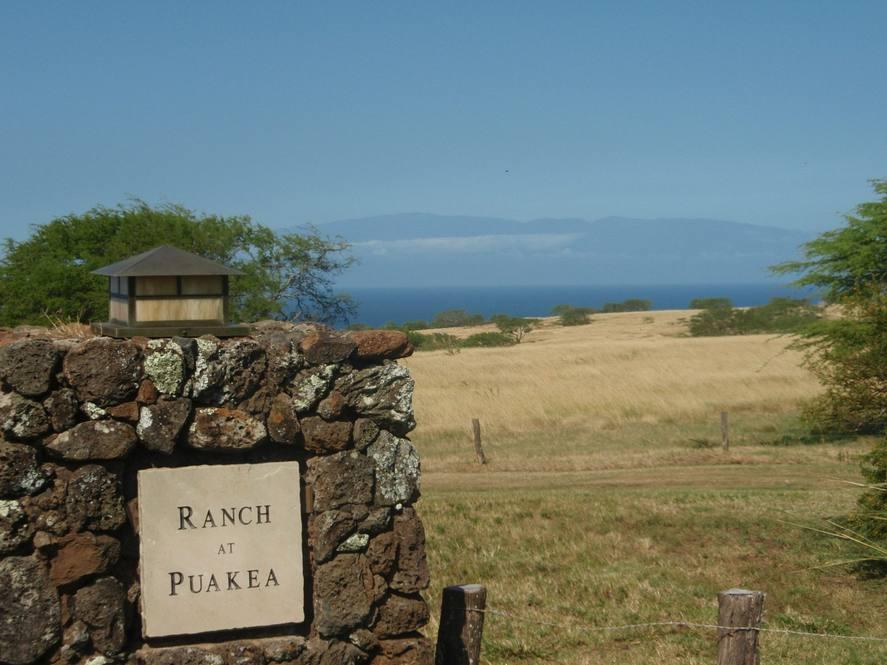 Ranch at puakea sign maui 1