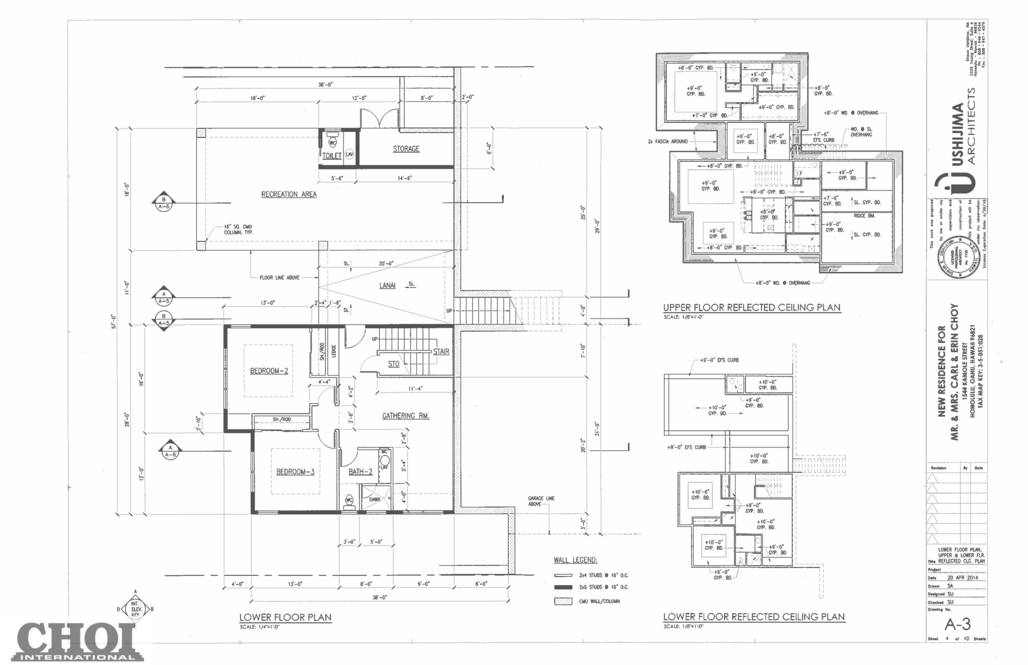 07. upper level plans 1544 kamole street