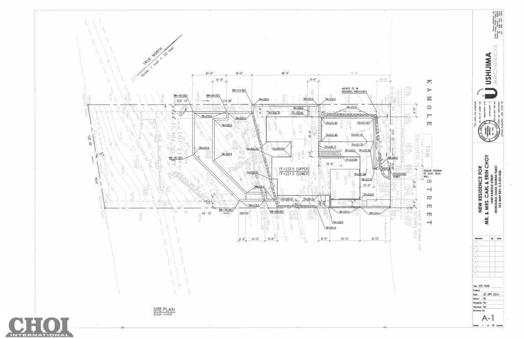 09. site plan 1544 kamole street