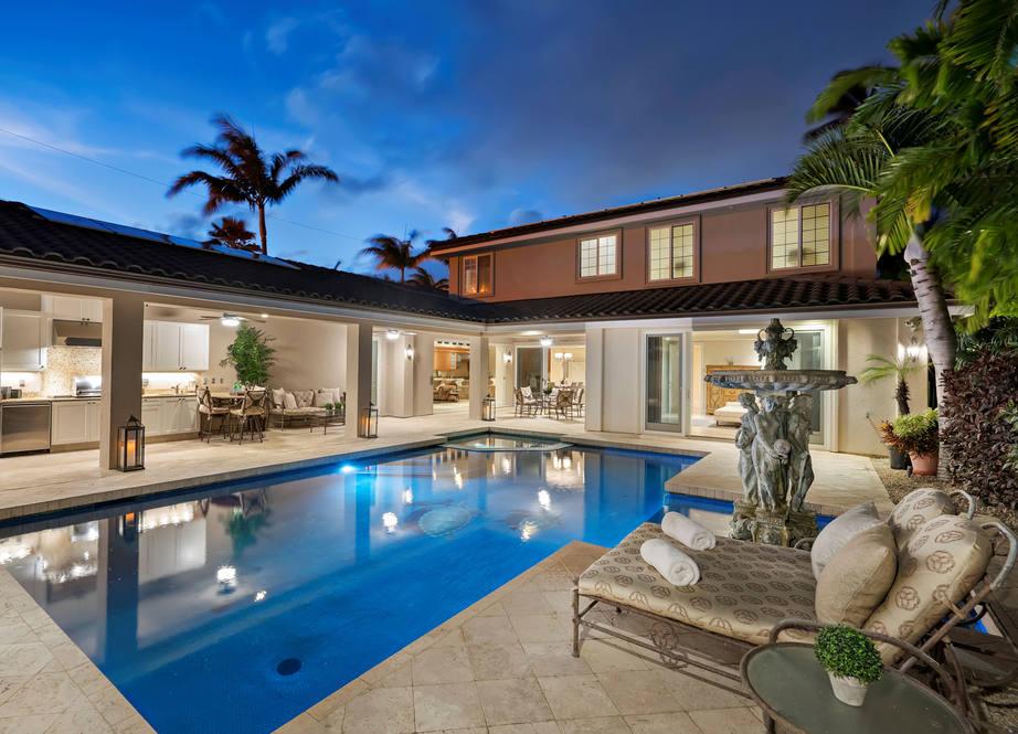 2. evening pool   4551 aukai avenue