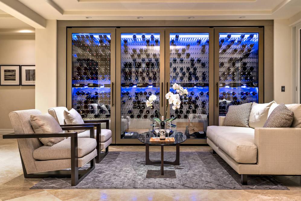 7.  custom wine wall 4551 aukai avenue