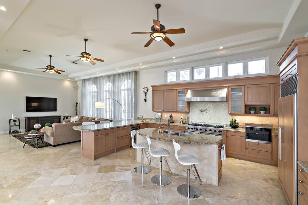 10.  kitchen with island 4551 aukai avenue