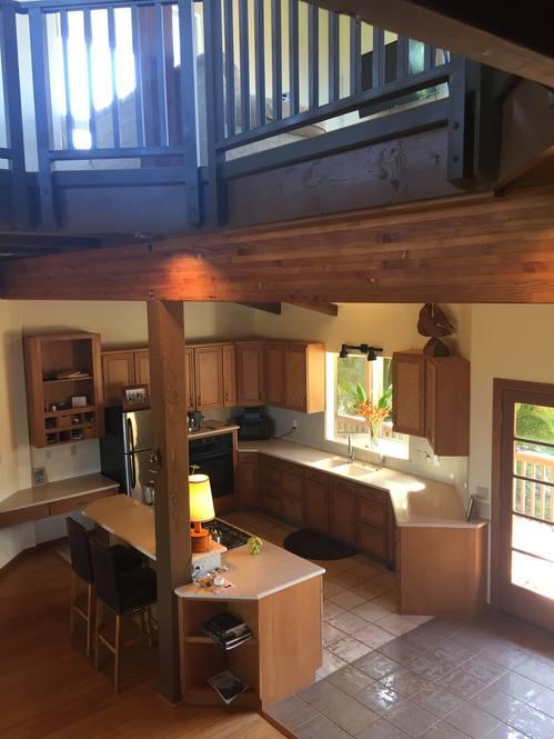 Tall kitchen