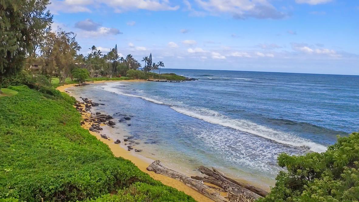 Drone beach   view 1
