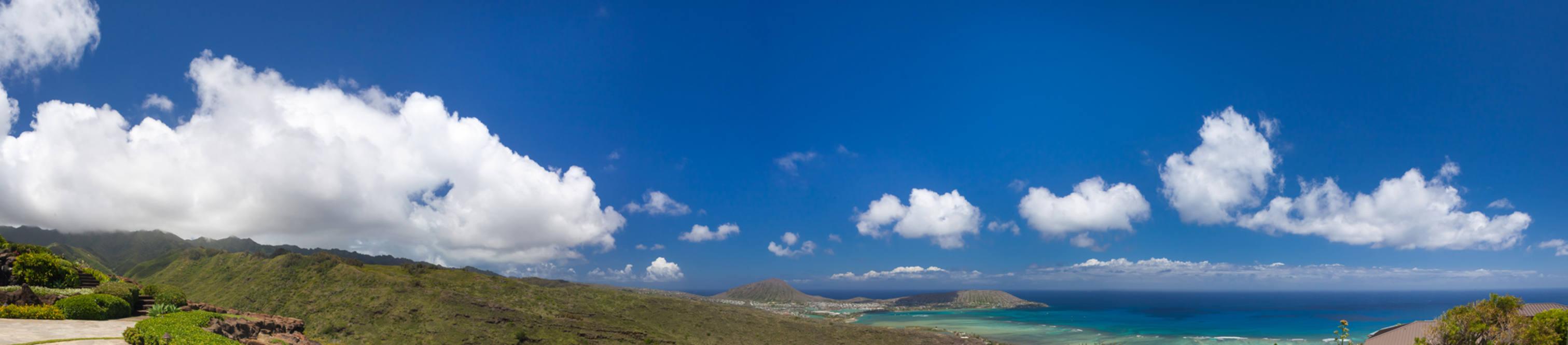 28. panoramic view of mountains  kokohd   ocean 828 moaniala street