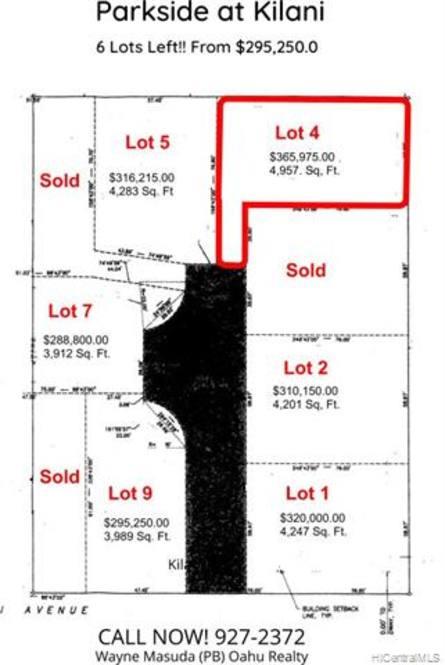 1106 Kilani Avenue #4 | Land for Sale in Wahiawa | 201923189 | Hawaii Life
