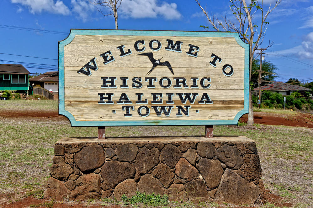 19. haleiwa town sign 67 290 farrington hwy