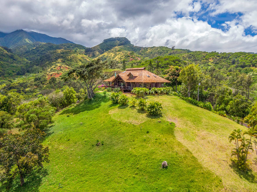 07. aerial of house to mt kaala 67 290 farrington hwy