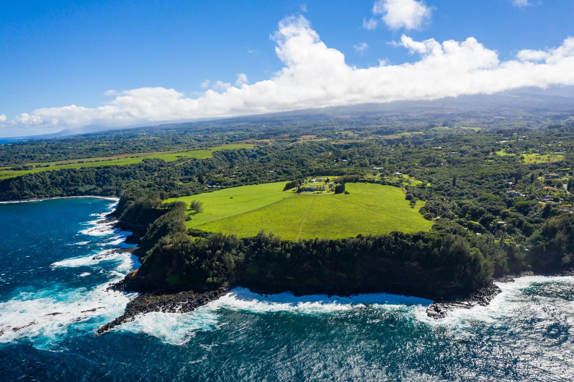 aerial photo of 600 Haumana Maui Hawaii
