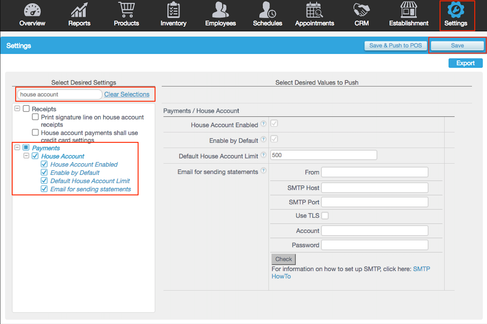 House Accounts Vs Invoices Revel Systems Help Site - What to say when sending an invoice via email