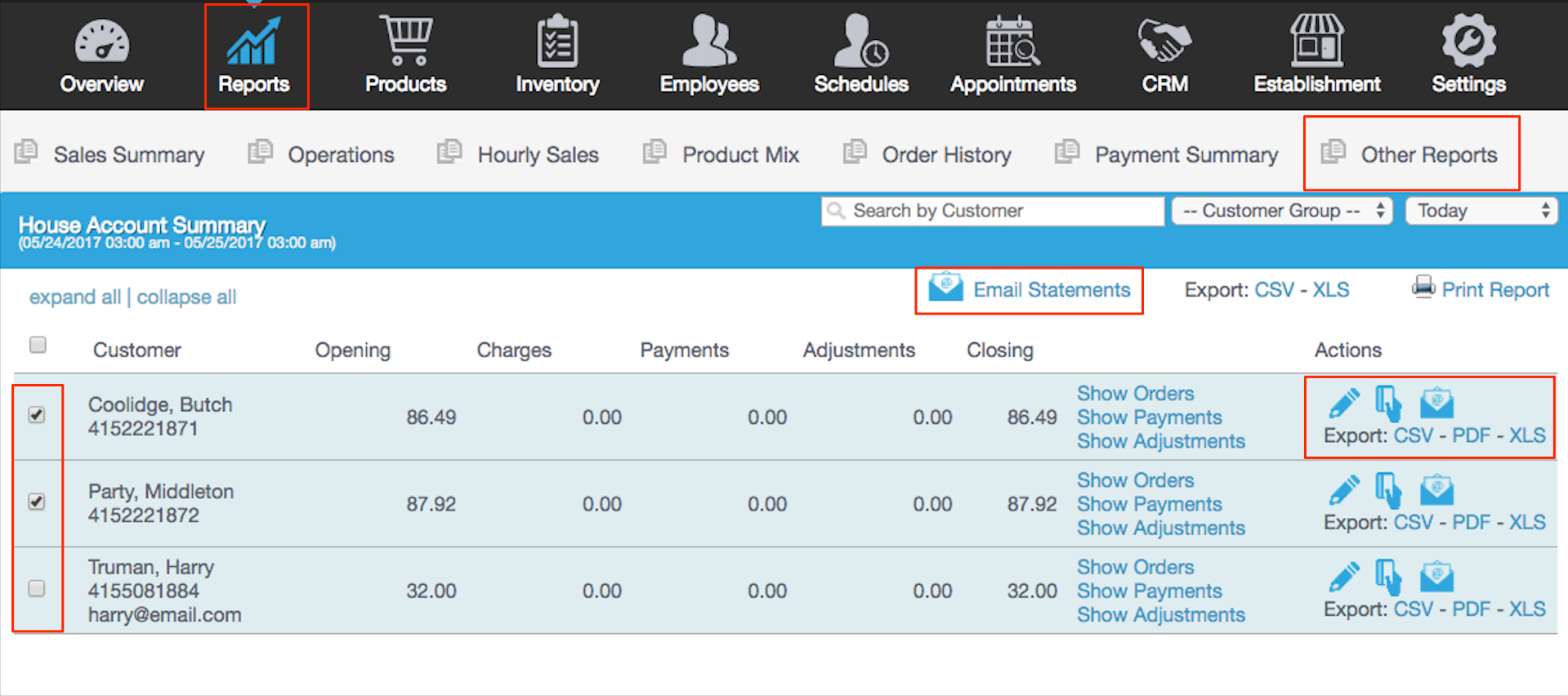 House Accounts vs Invoices – Revel Systems Help Site