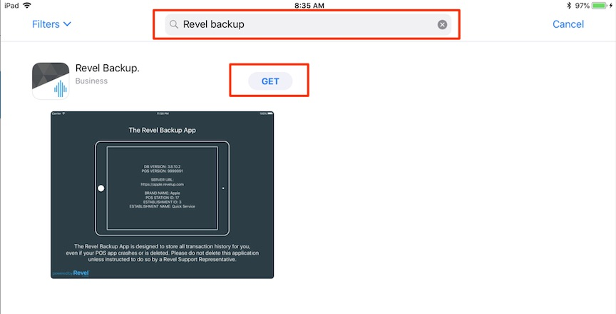 How to Install the Revel Backup App – Revel Systems Help Site