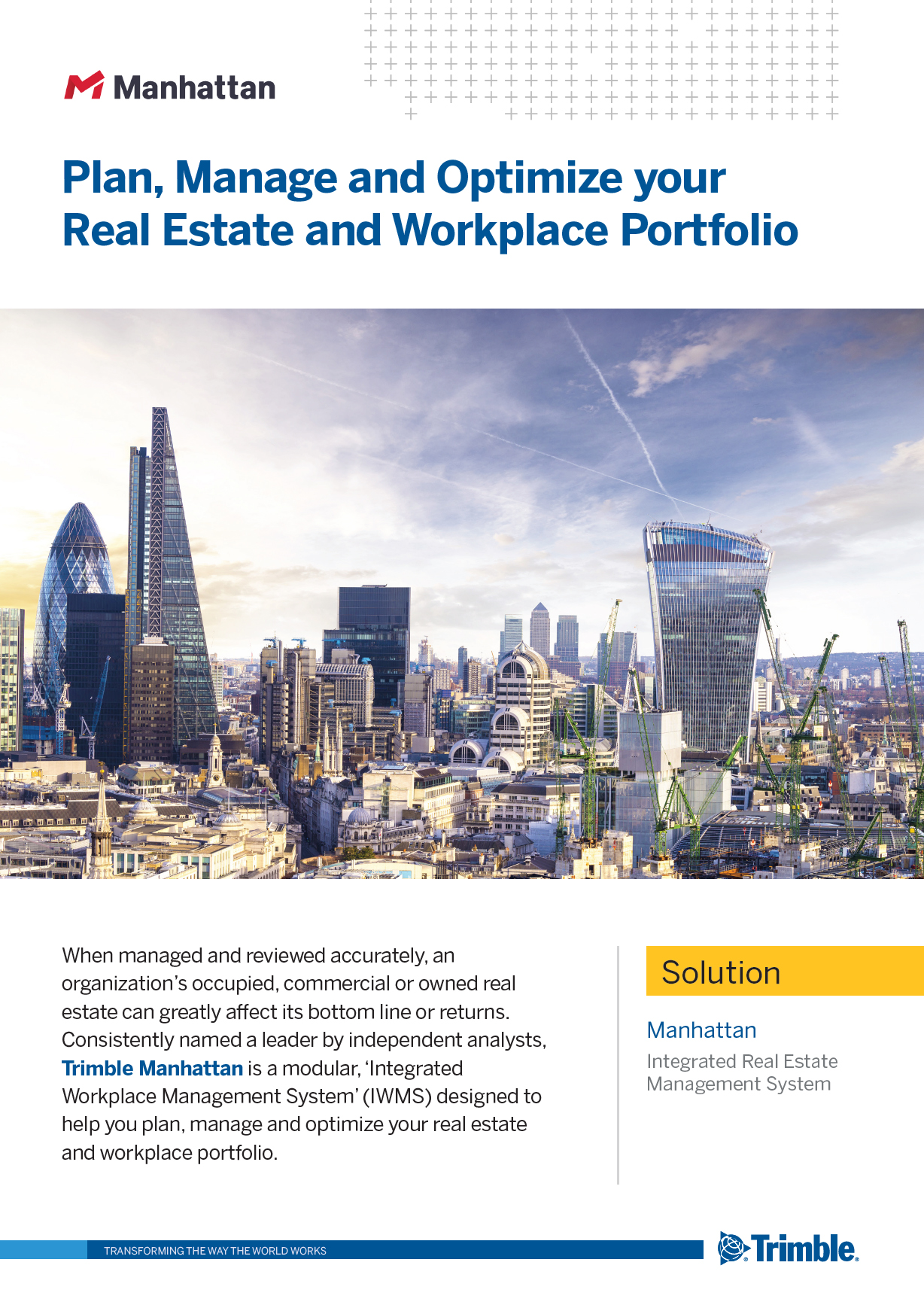 Manhattan – Integrated Real Estate Management Software