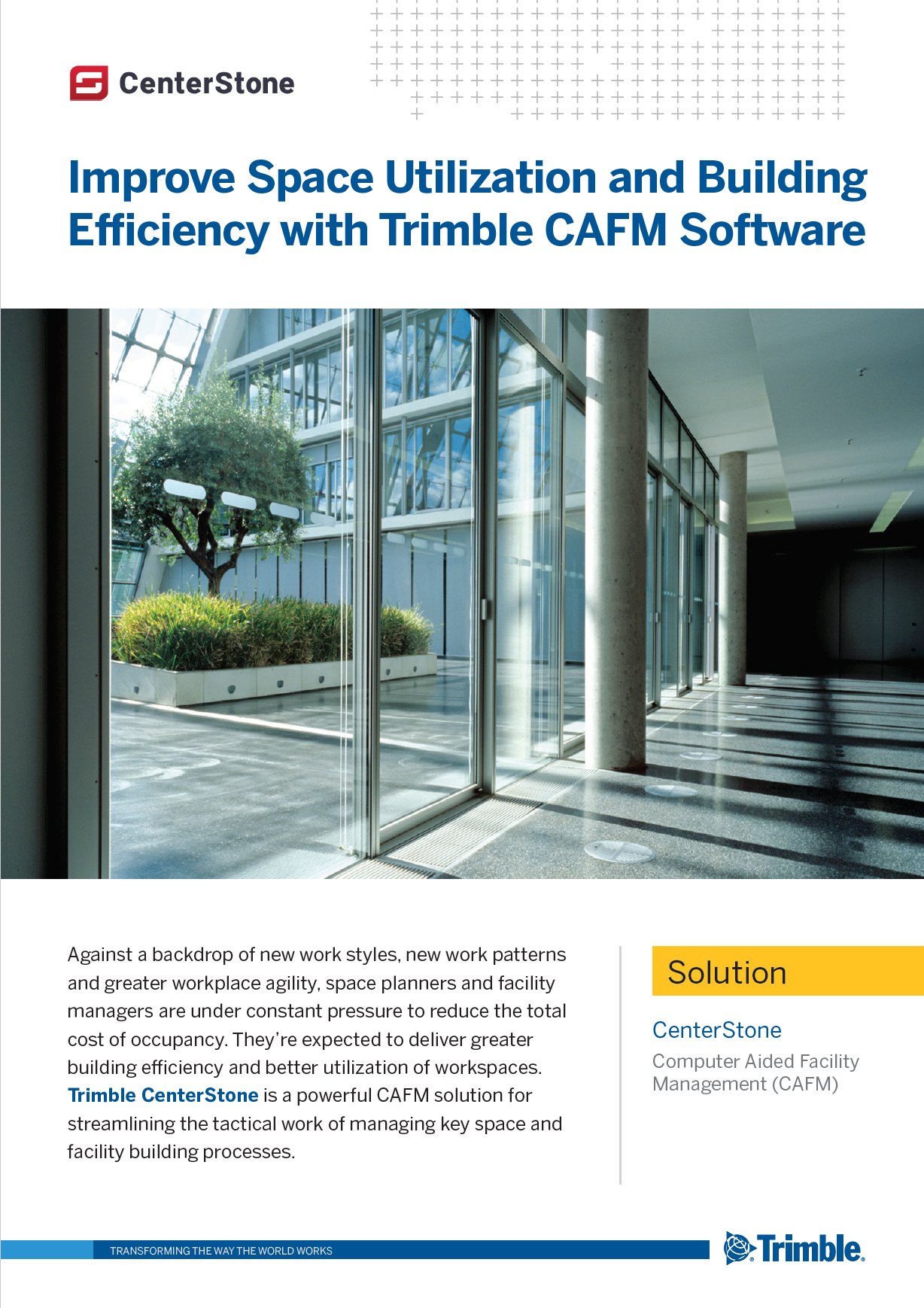 CenterStone – CAFM Facility Management Software