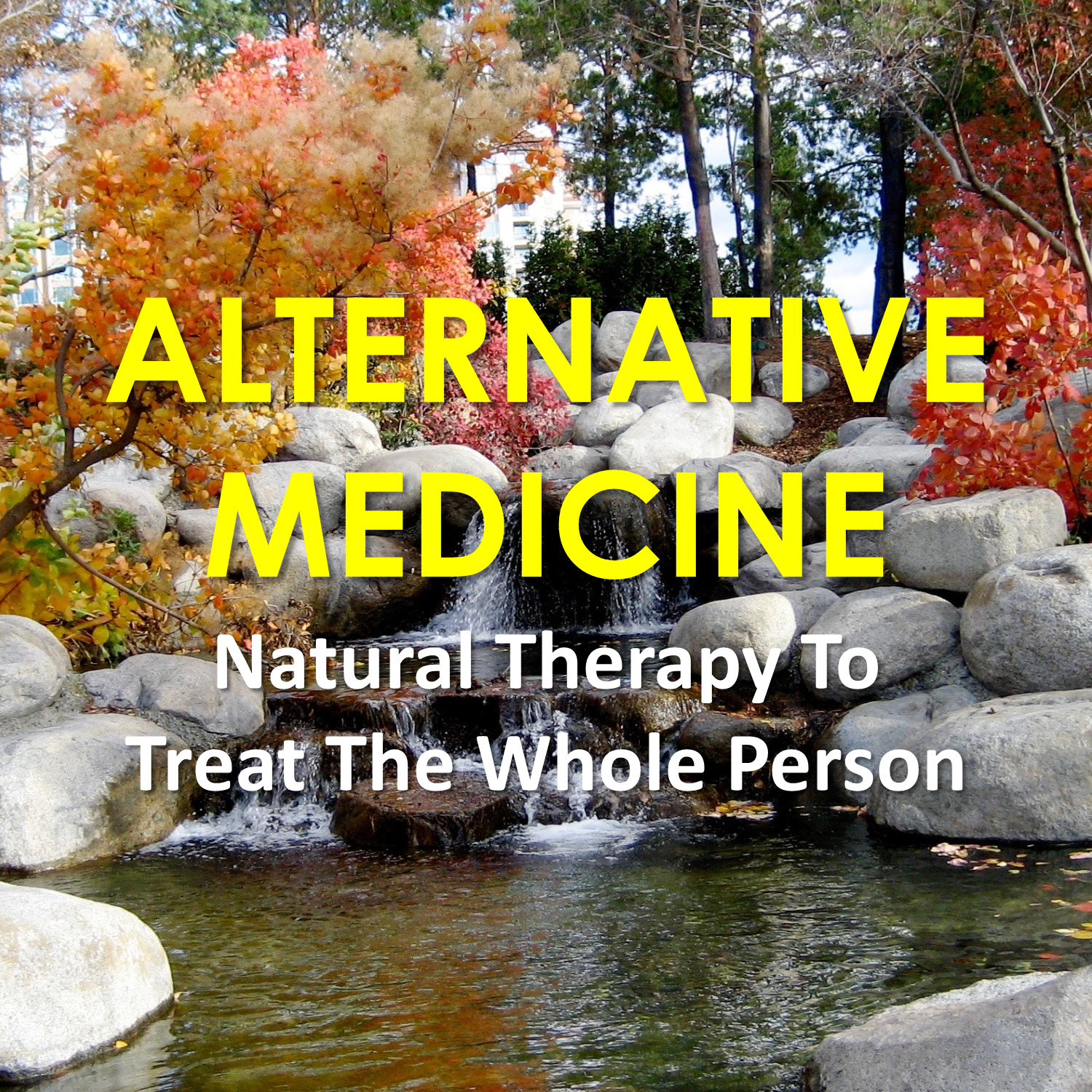 Natural Therapy To Treat The Whole Person
