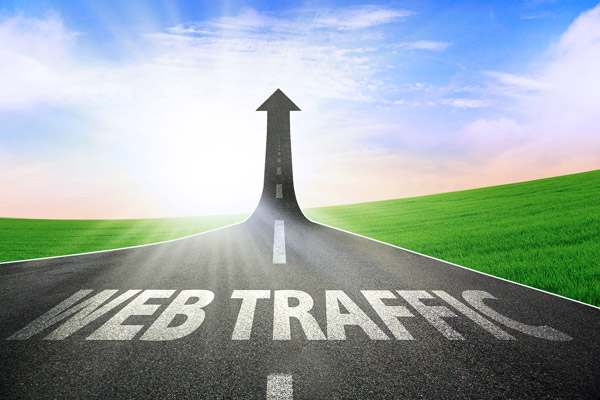 consignment software - web traffic