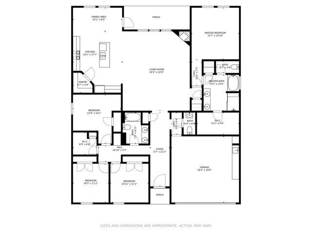 Floor Plan 805 Wedgewood