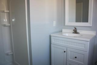 New full bath off main bedroom