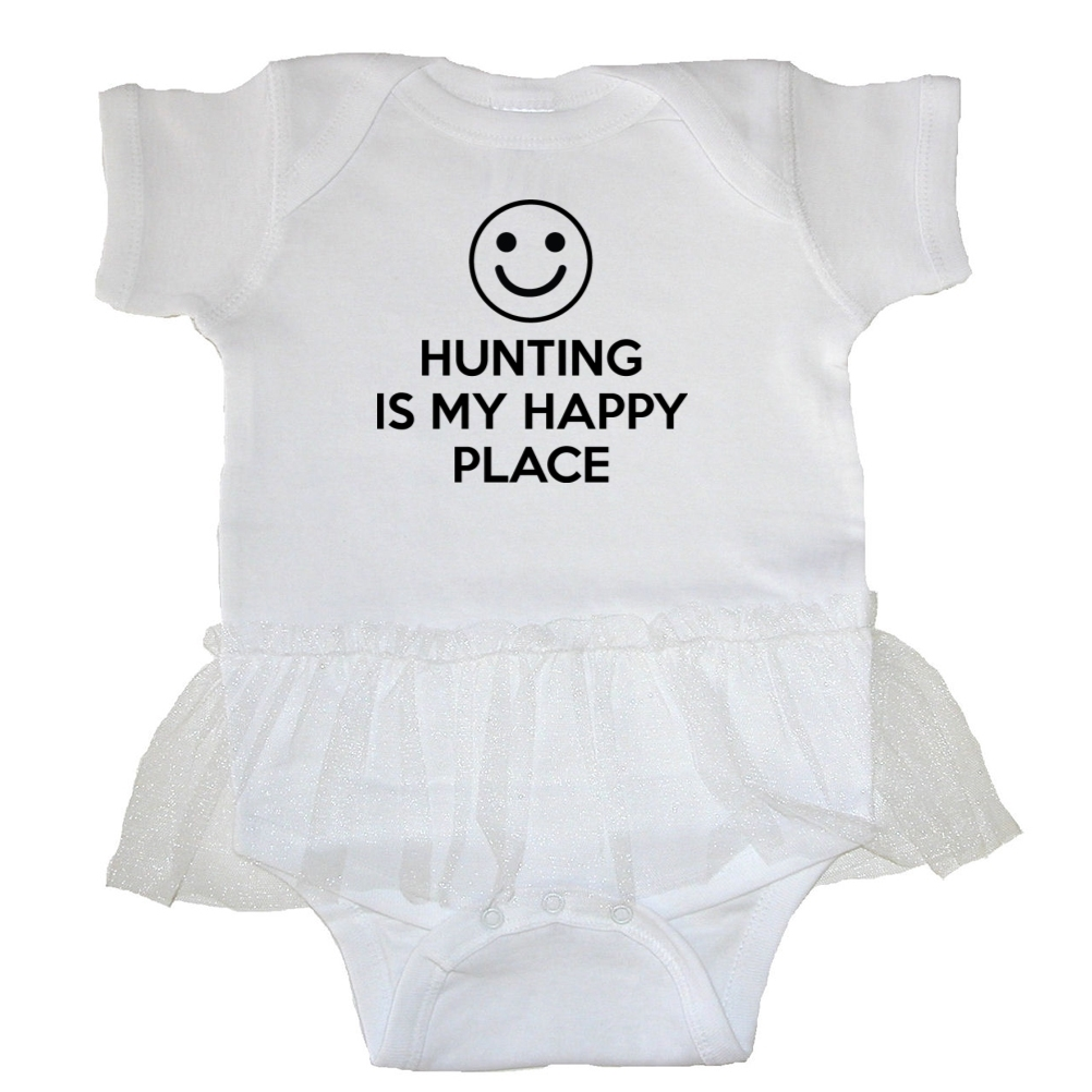Mashed Clothing Hunting Is My Happy Place Baby Tutu Bodysuit at Sears.com