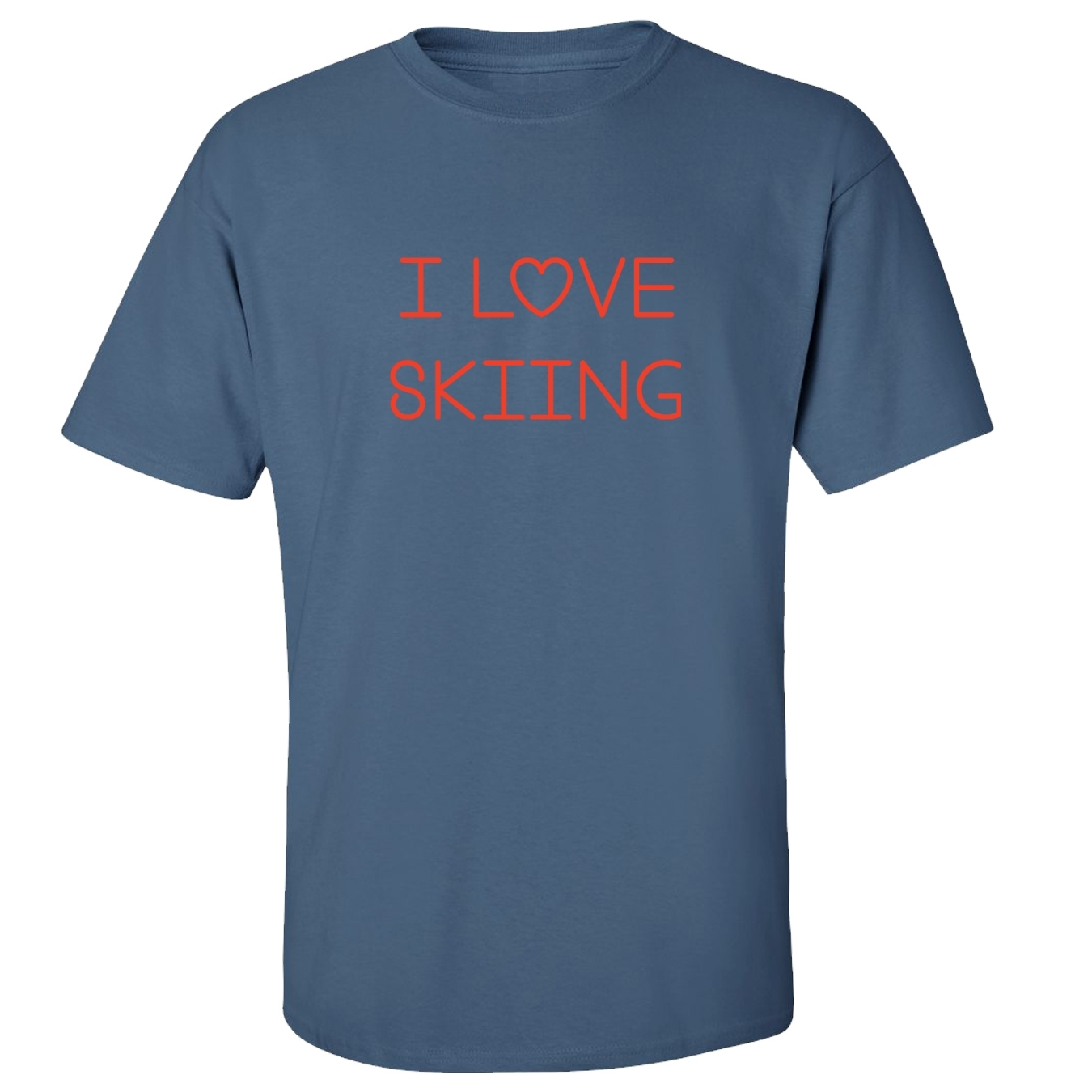 Mashed Clothing I Love Skiing Adult T-Shirt at Sears.com