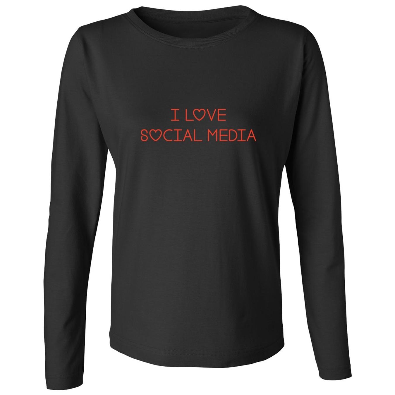 Mashed Clothing I Love Social Media Women's Long Sleeve T-Shirt at Sears.com