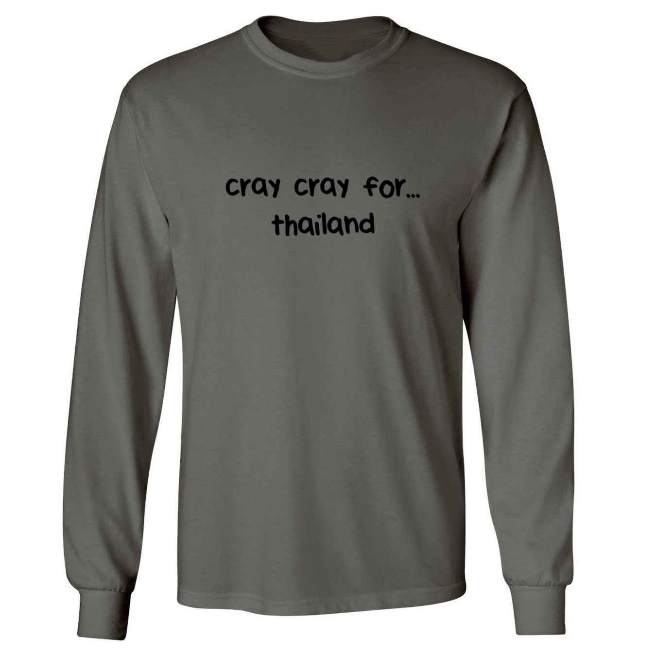 Mashed Clothing Cray Cray For thailand Adult Long Sleeve T-Shirt at Sears.com
