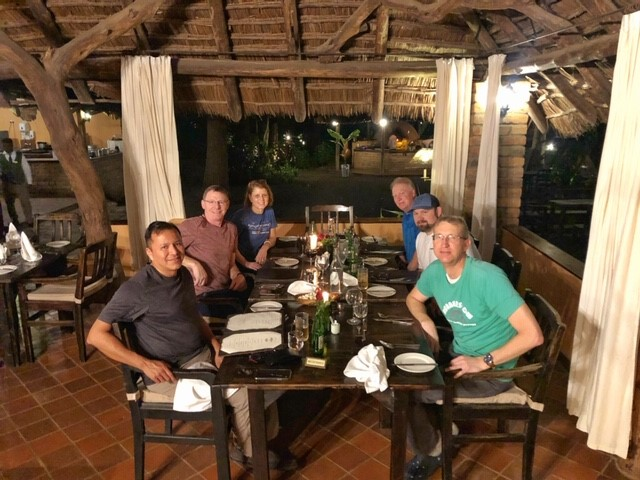 RMI team meet and greet at the Rivertrees Lodge, Tanzania. Photo: Casey Grom