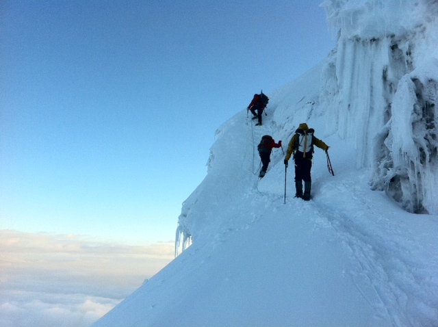 Ecuador Volcanoes: Grom & Team 100% on Cotopaxi Summit! | RMI Expeditions  Blog