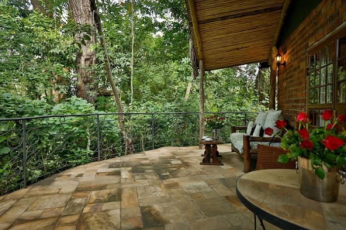 River Cottage veranda view at Rivertrees Lodge, Tanzania. Photo: Rivertrees Lodge