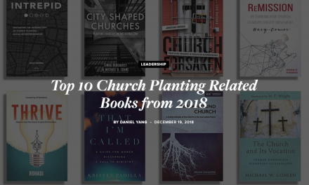 """Thrive"" Makes Top Ten Church Planting Books of 2018 List from SEND"