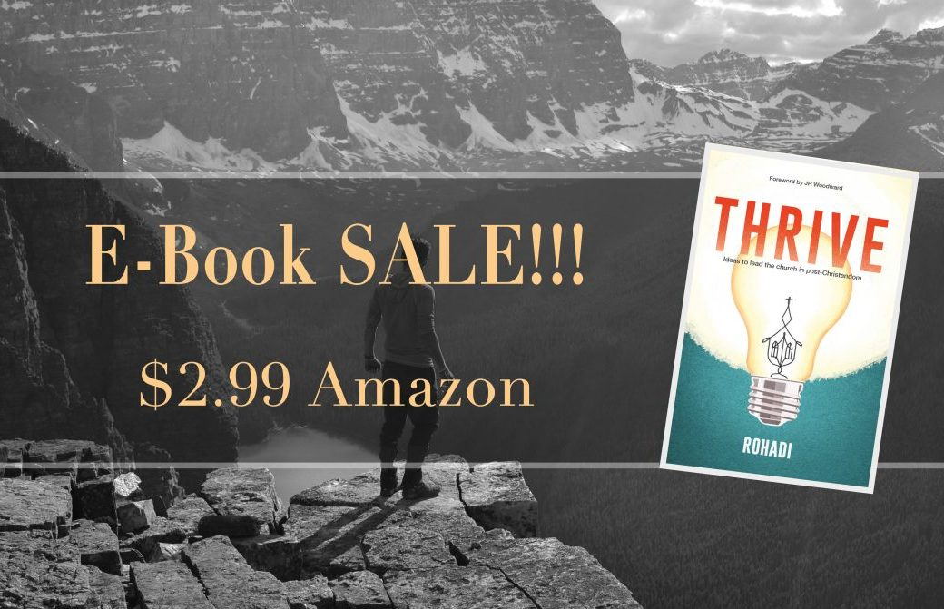 "1-Year Anniversary for ""Thrive"", E-Book Discount, & Tips for Writing Your Book"