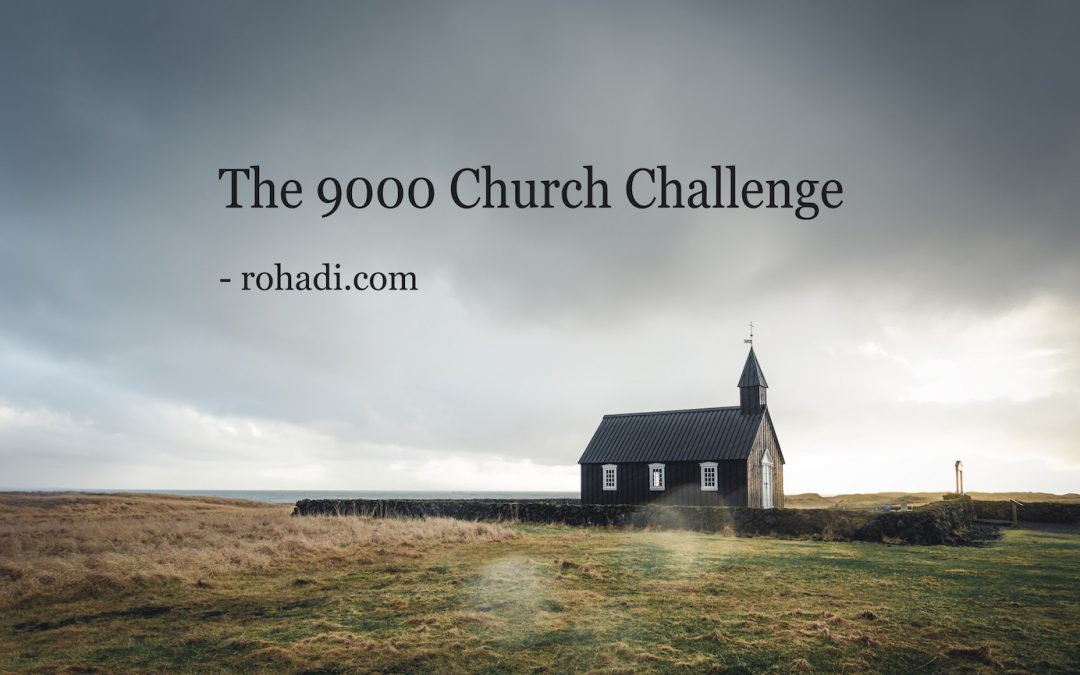The 9000 Church Challenge – 3 Ideas to Re-Think Building Assets