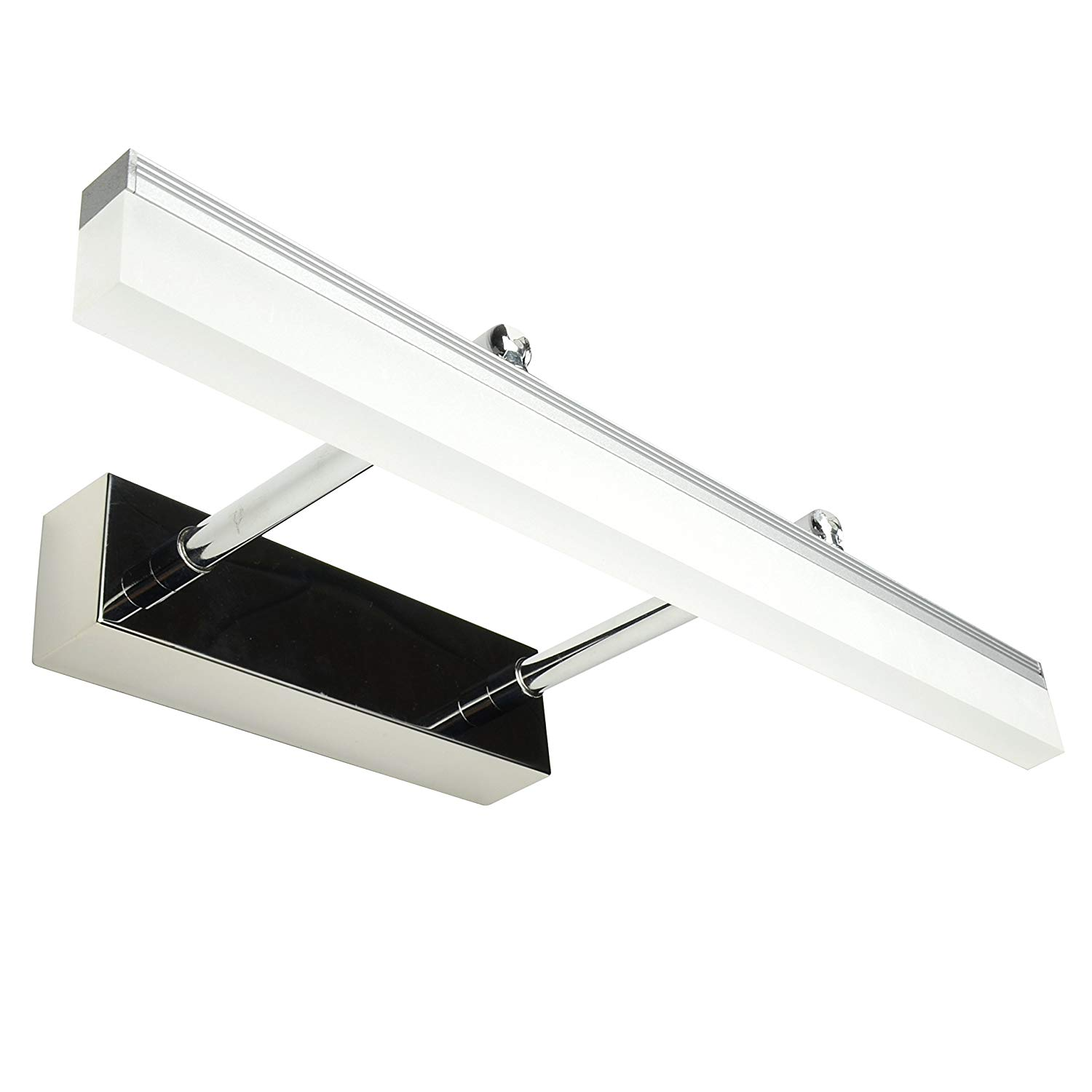 Etelux 9w Bath Vanity Light, Bathroom Mirror Lamp, Led Make-up Mirror Front Light, Sliver