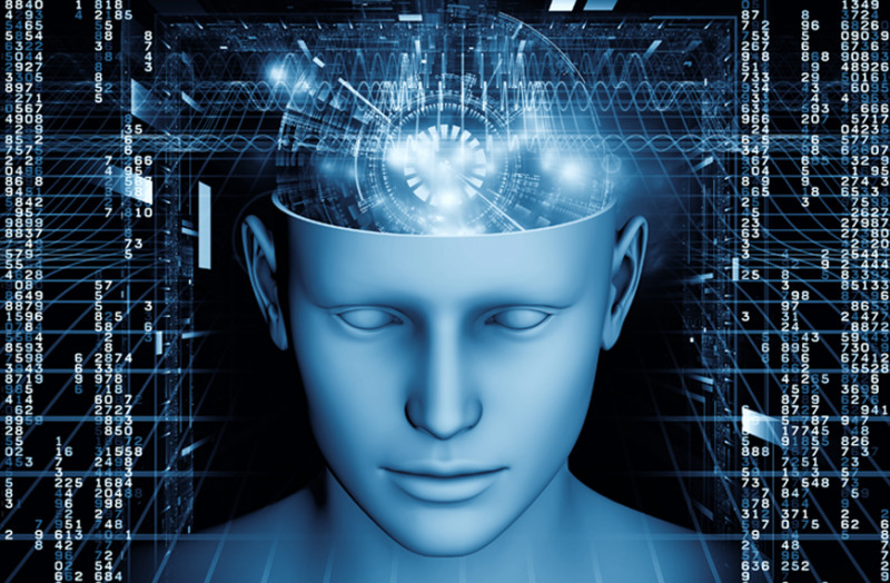Image showing an animation of an enlightened brain