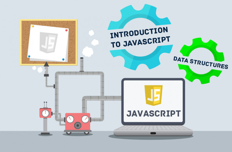 Image of icons showing different data structures in JavaScript