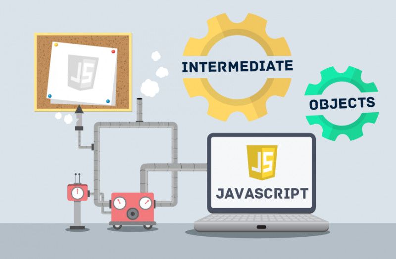 Image of icons showing different objects in JavaScript