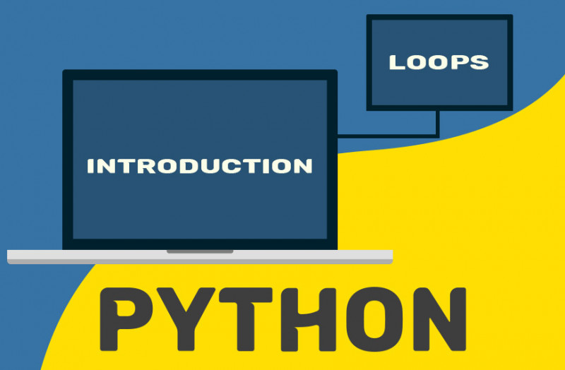 Carton image to show loops as an introduction to python