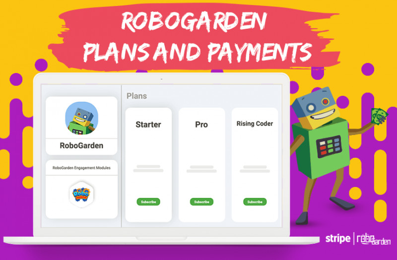 Image showing how to plan on RoboGarden