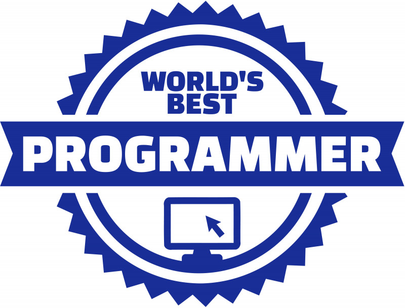 Image showing the word of  The Best Programmers in the World.