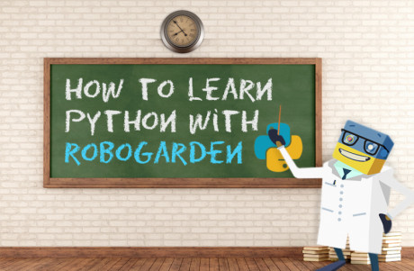 RoboGarden's Robo teaches kids Python