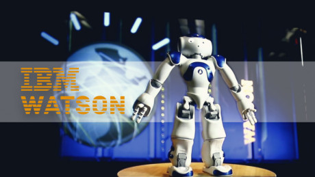 Image showing a robot that can run one of Watson's APIs or more