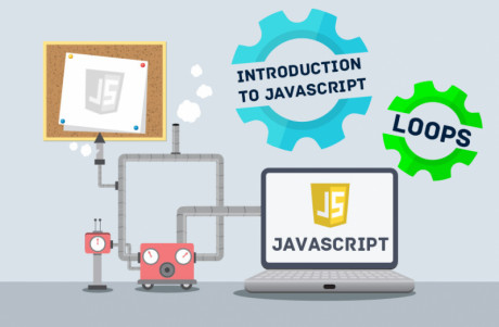 Carton image to show loops as an introduction to JavaScript