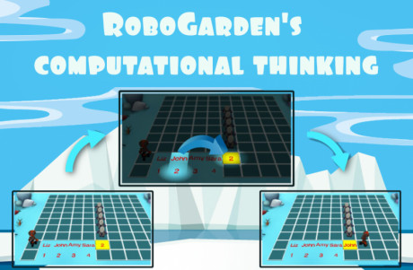 Image showing one of Robogarden missions that will help you start your journey