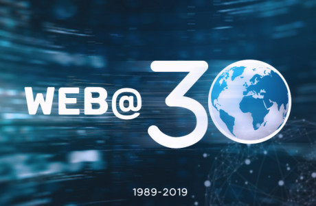Image showing the 30th anniversary of the world wide web