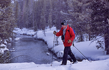 yellowstone national park cross country skiing